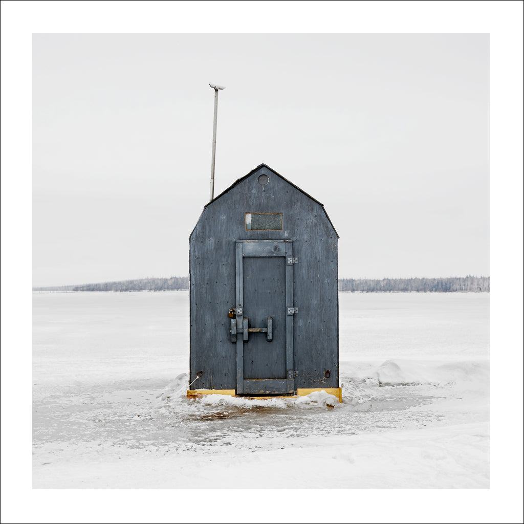 Ice Hut # 200, Bedequay Bay, Summerside, Prince Edward Island, Canada, 2009 | © 2007-2017 Richard Johnson Photography Inc. | richardjohnsongallery.com
