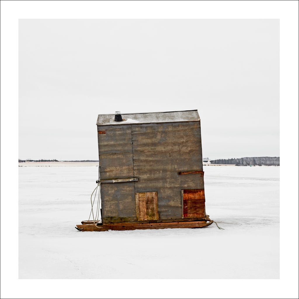 Ice Hut # 202, Bedequay Bay, Summerside, Prince Edward Island, Canada, 2009 | © 2007-2017 Richard Johnson Photography Inc. | richardjohnsongallery.com