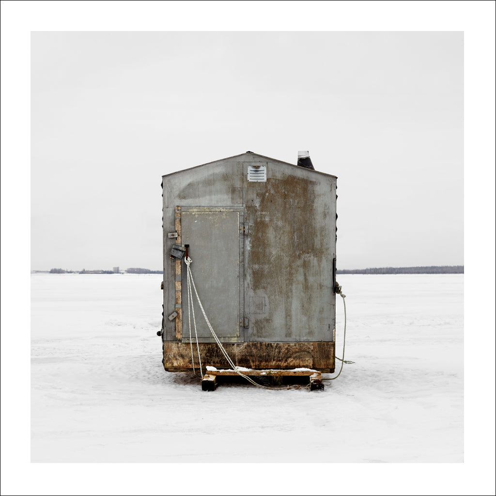 Ice Hut # 203, Bedequay Bay, Summerside, Prince Edward Island, Canada, 2009 | © 2007-2017 Richard Johnson Photography Inc. | richardjohnsongallery.com