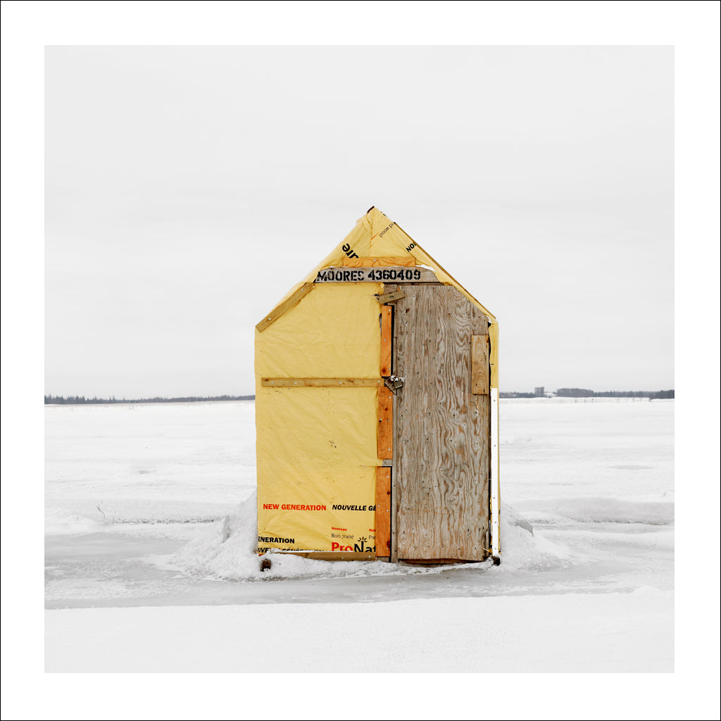 Ice Hut # 204, Bedequay Bay, Summerside, Prince Edward Island, Canada, 2009 | © 2007-2017 Richard Johnson Photography Inc. | richardjohnsongallery.com