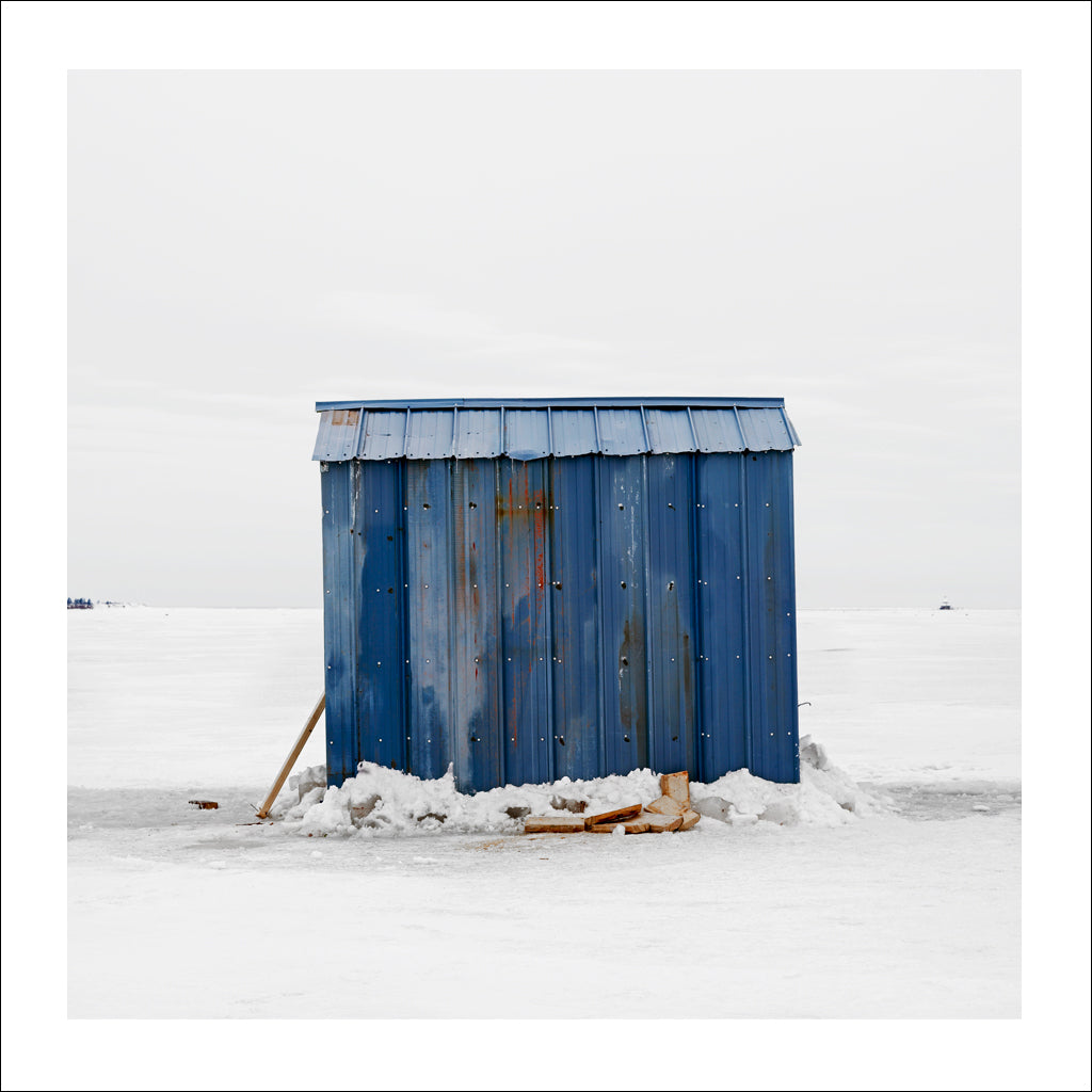 Ice Hut # 206, Bedequay Bay, Summerside, Prince Edward Island, Canada, 2009 | © 2007-2017 Richard Johnson Photography Inc. | richardjohnsongallery.com