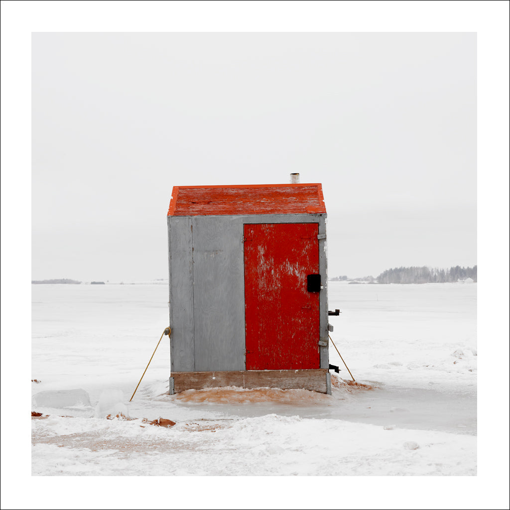 Ice Hut # 207, Malpeque Bay, Prince Edward Island, Canada, 2009 | © 2007-2017 Richard Johnson Photography Inc. | richardjohnsongallery.com
