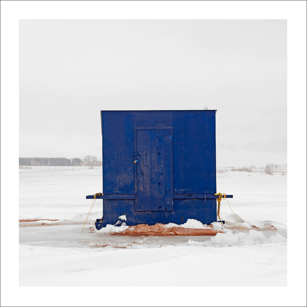 Ice Hut # 209, Malpeque Bay, Prince Edward Island, Canada, 2009 | © 2007-2017 Richard Johnson Photography Inc. | richardjohnsongallery.com