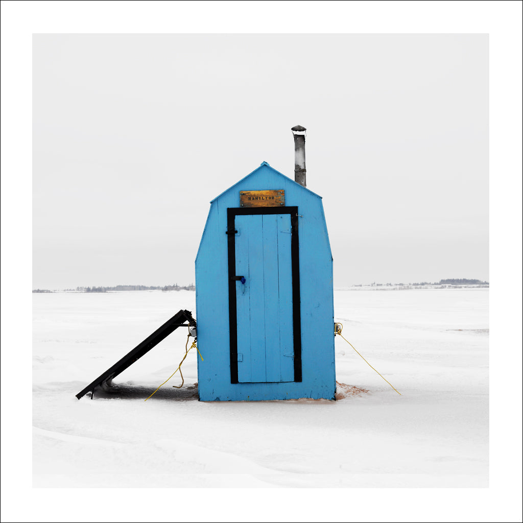 Ice Hut # 210, Malpeque Bay, Prince Edward Island, Canada, 2009 | © 2007-2017 Richard Johnson Photography Inc. | richardjohnsongallery.com