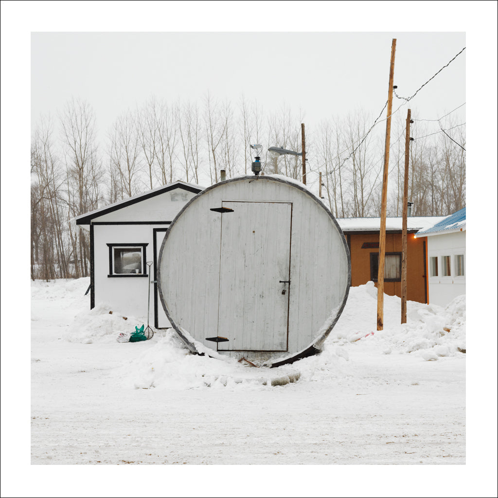 Ice Hut # 272, Sainte-Anne-de-La-Pérade, Quebec, Canada, 2010