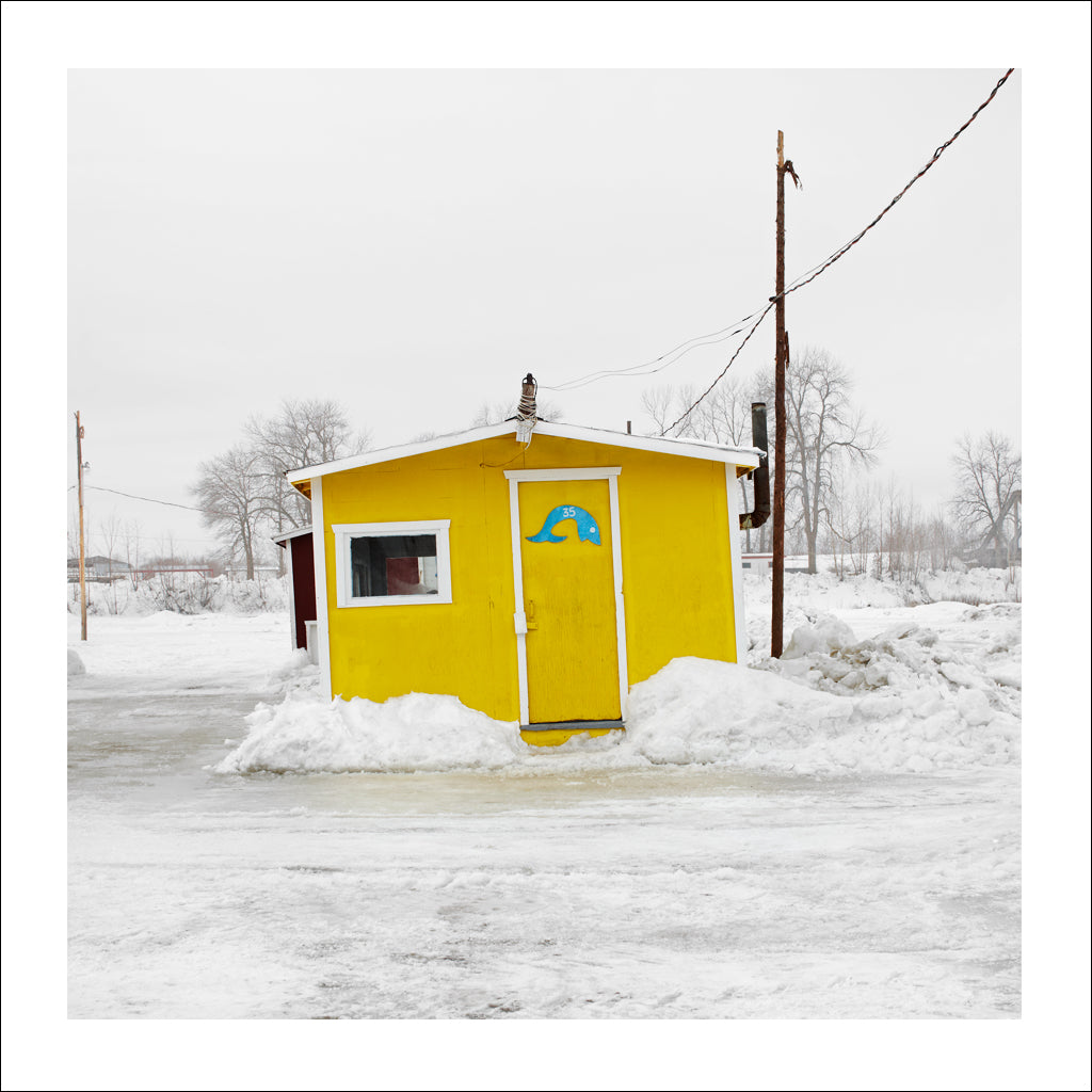 Ice Hut # 287, Sainte-Anne-de-La-Pérade, Quebec, Canada, 2010