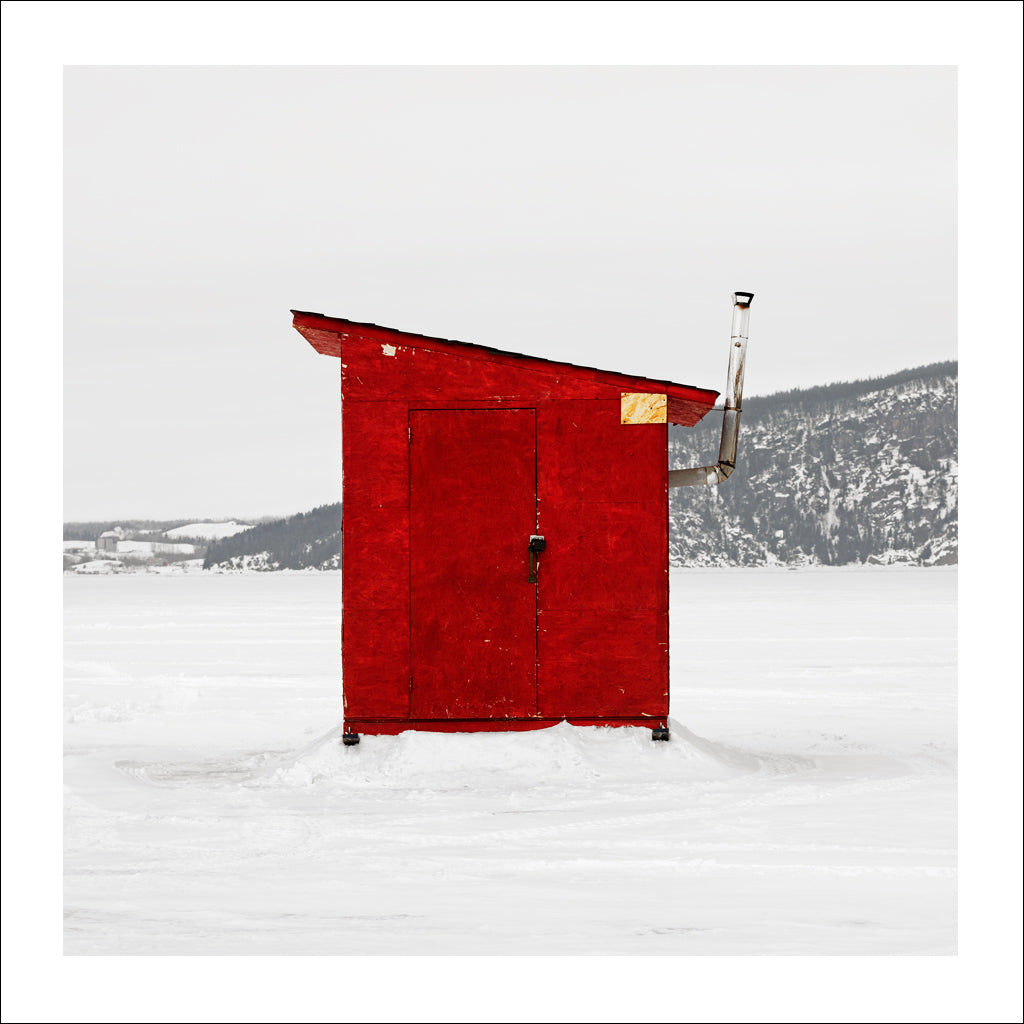 Ice Hut # 342, La Baie Des Ha! Ha!, Saguenay River, Quebec, Canada, 2010 | © 2007-2016 Richard Johnson Photography Inc. | richardjohnsongallery.com