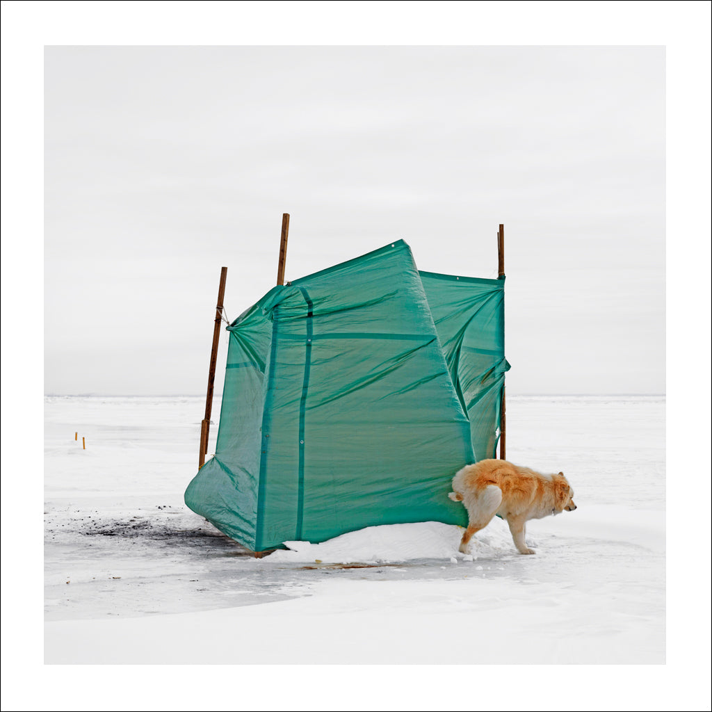 Ice Hut # 366, Yamachiche, Lac Saint-Pierre, Quebec, Canada, 2010 | © 2007-2016 Richard Johnson Photography Inc. | richardjohnsongallery.com