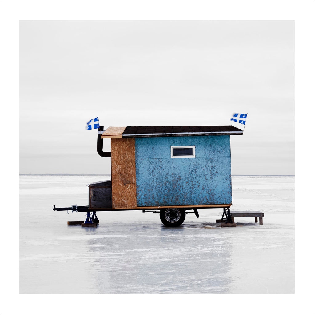Ice Hut # 374, Yamachiche, Lac Saint-Pierre, Quebec, Canada, 2010 | © 2007-2016 Richard Johnson Photography Inc. | richardjohnsongallery.com