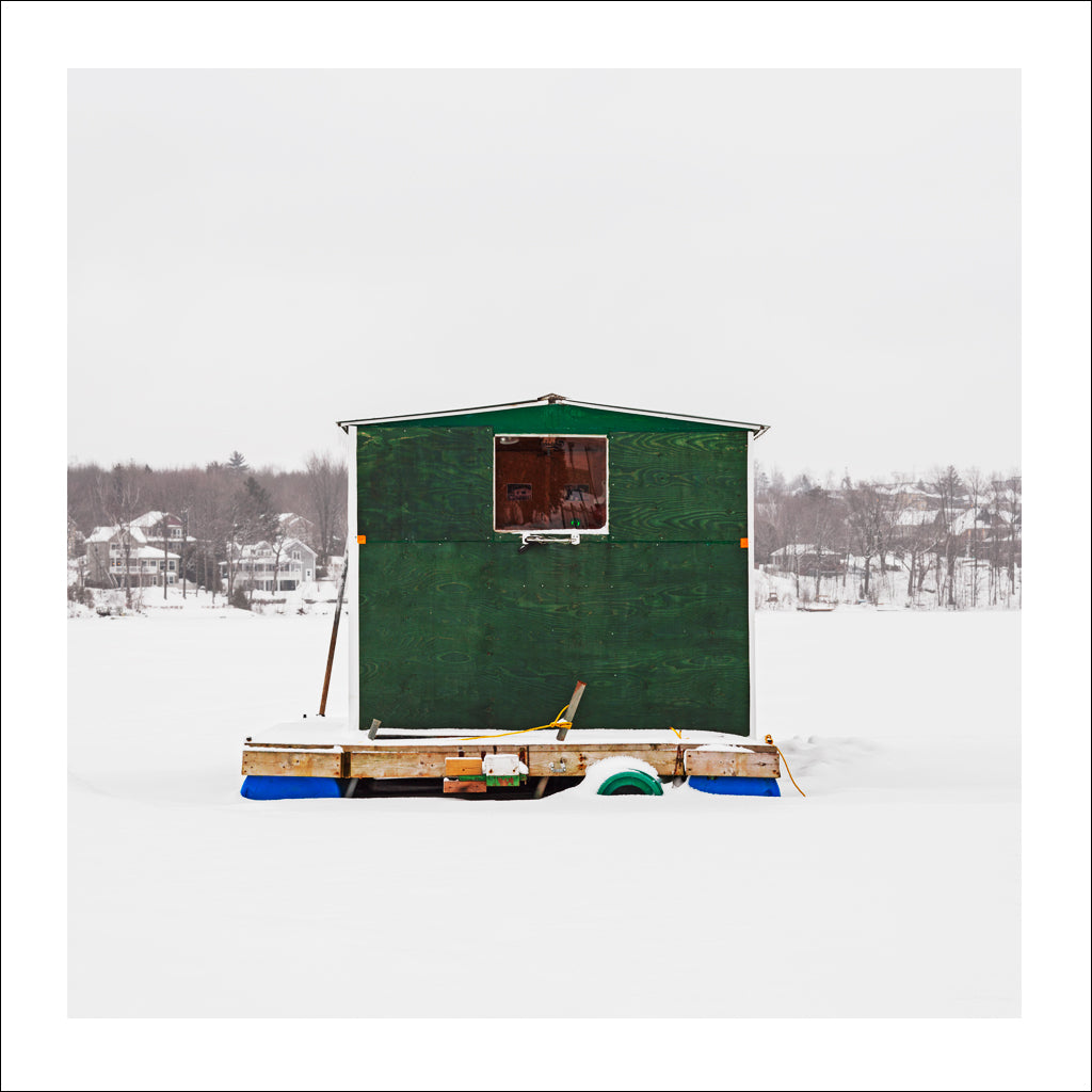 Ice Hut # 825-a, Cap-Rouge, Lac Saint-Augustin, Quebec, Canada, 2016