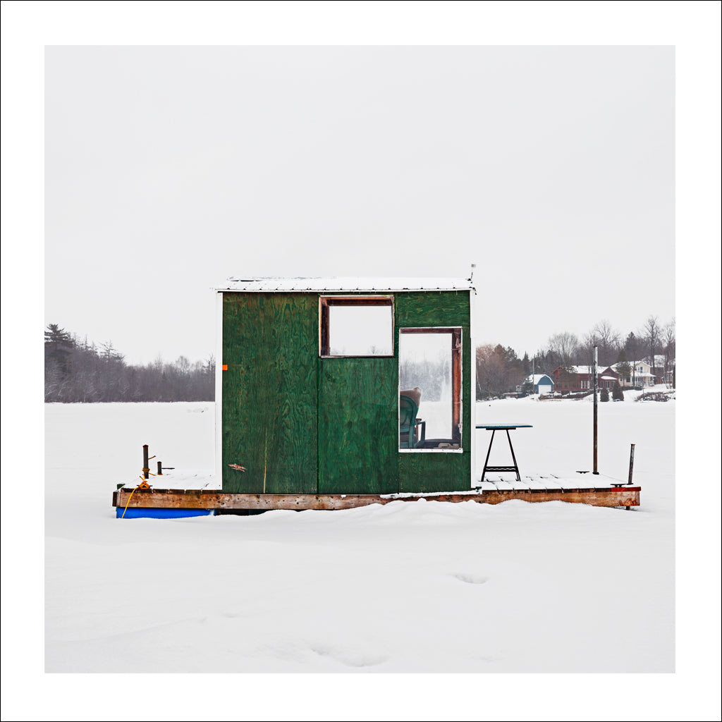 Ice Hut # 825, Cap-Rouge, Lac Saint-Augustin, Quebec, Canada, 2016