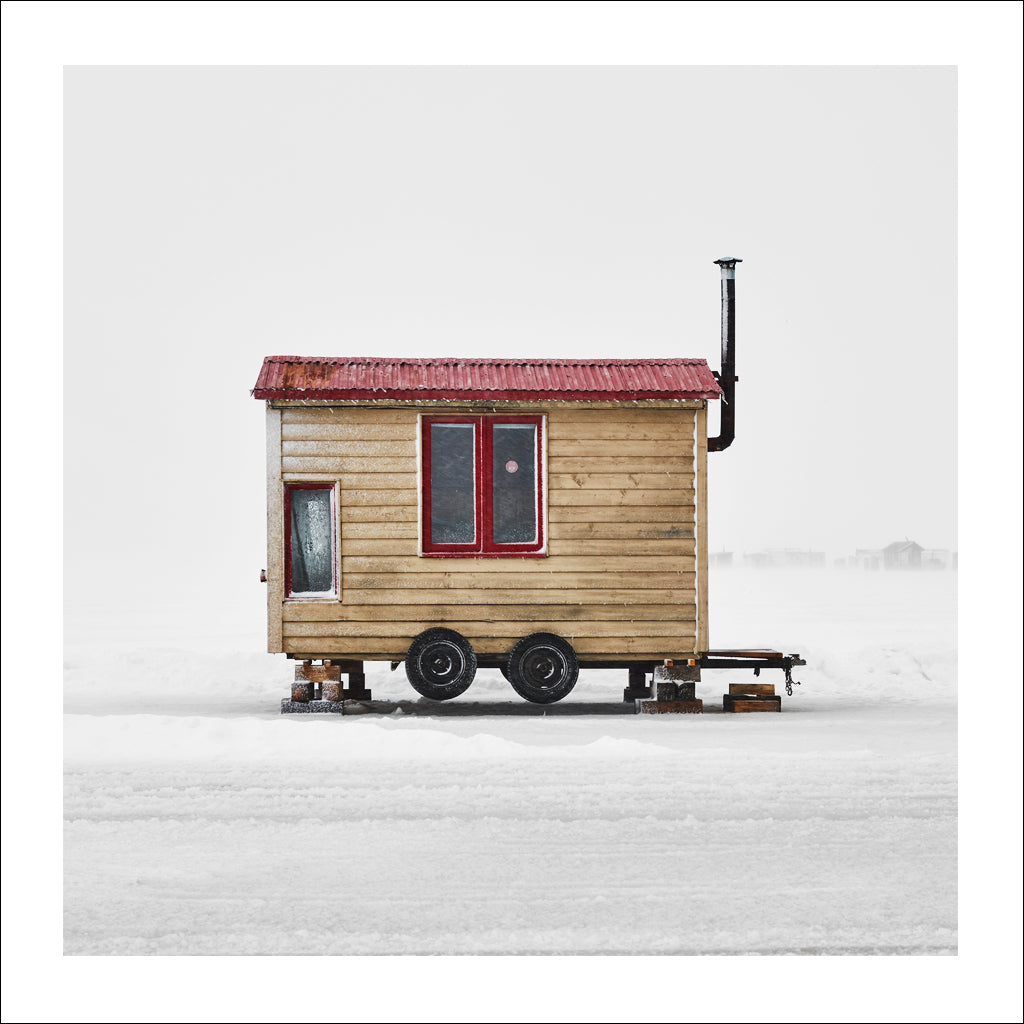 Ice Hut # 885, La Baie Des Ha! Ha!, Saguenay River, Quebec, Canada, 2016 | © 2007-2016 Richard Johnson Photography Inc. | richardjohnsongallery.com