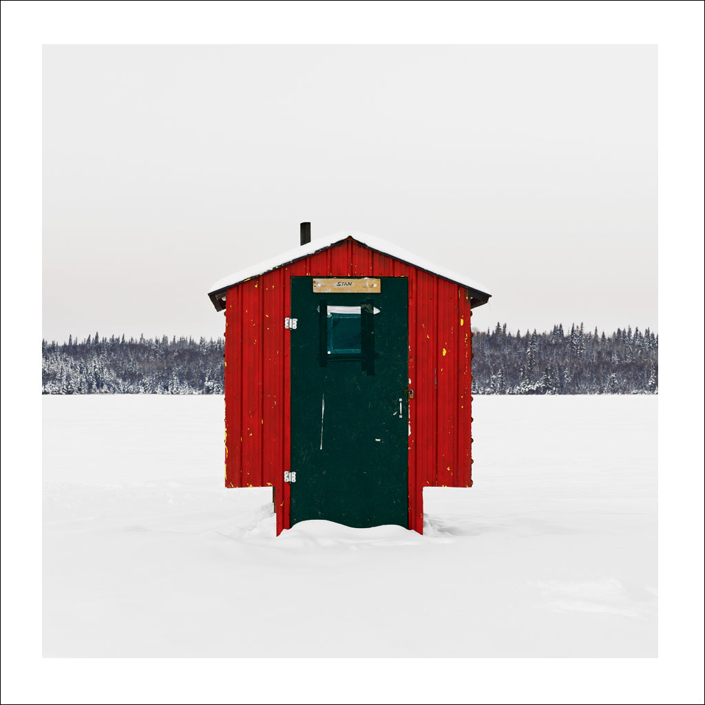 Ice Hut # 475, Murray Point, Emma Lake, Saskatchewan, Canada, 2011 | © 2007-2017 Richard Johnson Photography Inc. | richardjohnsongallery.com