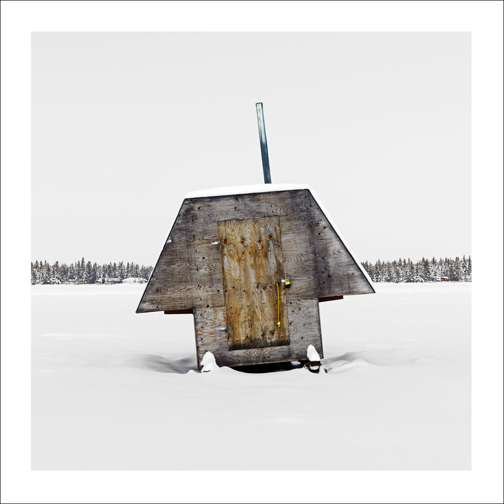 Ice Hut # 478, Murray Point, Emma Lake, Saskatchewan, Canada, 2011 | © 2007-2017 Richard Johnson Photography Inc. | richardjohnsongallery.com