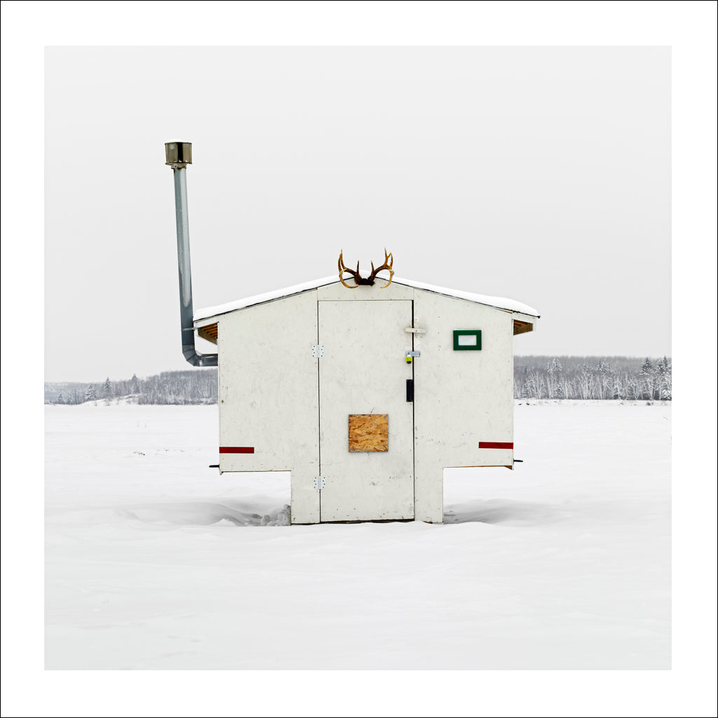 Ice Hut # 497, Anglin Lake, Saskatchewan, Canada, 2011 | © 2007-2017 Richard Johnson Photography Inc. | richardjohnsongallery.com