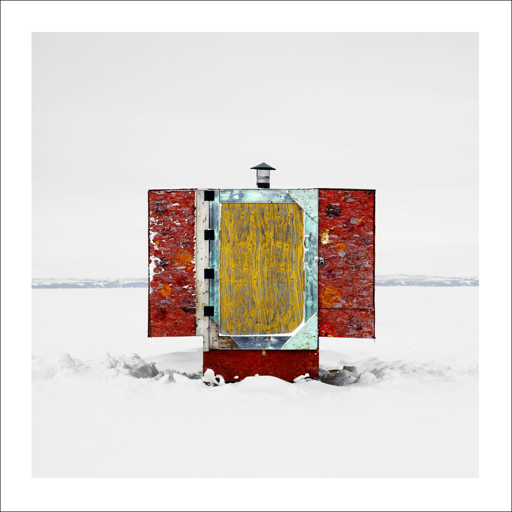 Ice Hut # 504, Shields, Blackstrap Reservoir, Saskatchewan, Canada, 2011 | © 2007-2017 Richard Johnson Photography Inc. | richardjohnsongallery.com