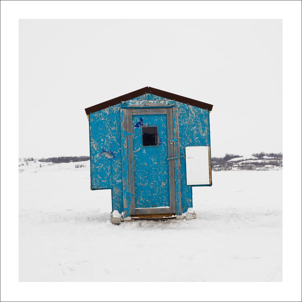 Ice Hut # 512, Regina Beach, Last Mountain Lake, Saskatchewan, Canada, 2011 | © 2007-2017 Richard Johnson Photography Inc. | richardjohnsongallery.com