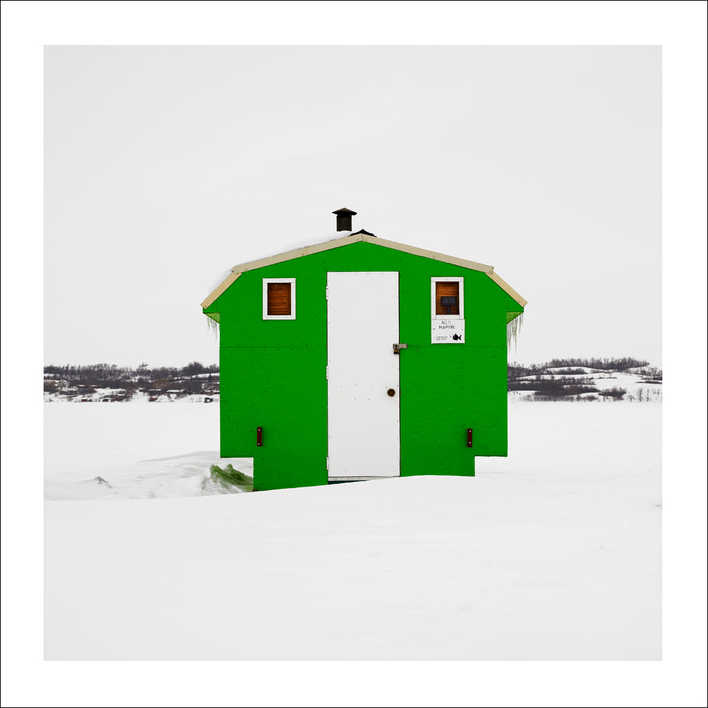 Ice Hut # 515, Lumsden Beach, Last Mountain Lake, Saskatchewan, Canada, 2011 | © 2007-2017 Richard Johnson Photography Inc. | richardjohnsongallery.com