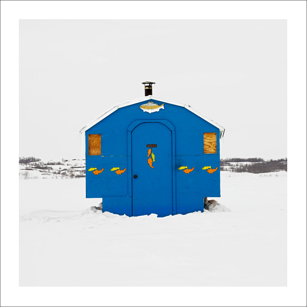 Ice Hut # 518, Lumsden Beach, Last Mountain Lake, Saskatchewan, Canada, 2011 | © 2007-2017 Richard Johnson Photography Inc. | richardjohnsongallery.com