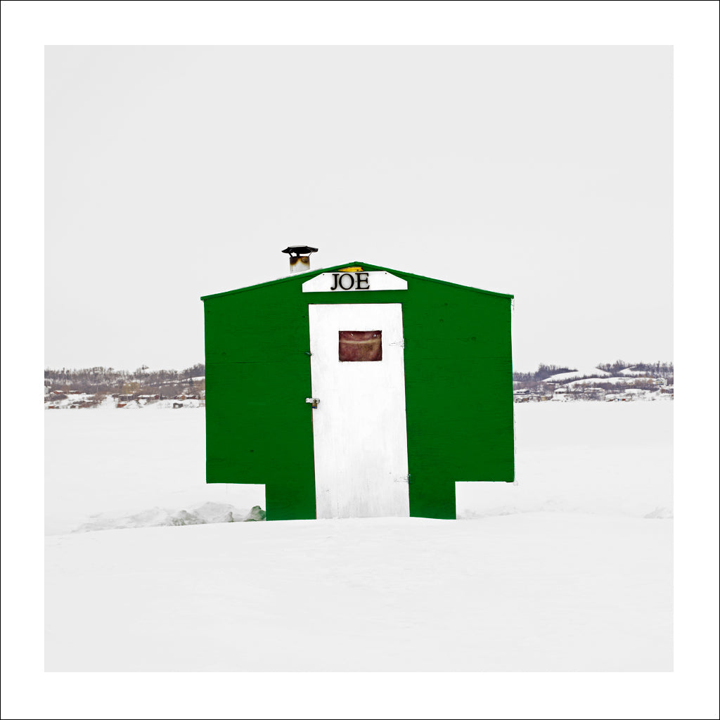 Ice Hut # 519, Regina Beach, Last Mountain Lake, Saskatchewan, Canada, 2011 | © 2007-2017 Richard Johnson Photography Inc. | richardjohnsongallery.com
