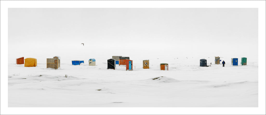 Ice Huts Storm # 11, McLeods, Chaleurs Bay, New Brunswick, Canada, 2012 | © 2007-2016 Richard Johnson Photography Inc. | richardjohnsongallery.com