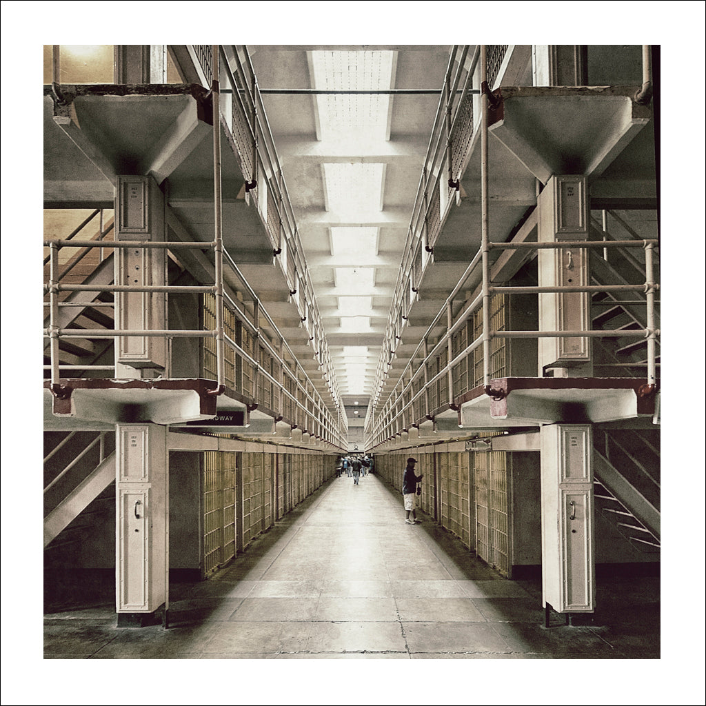 Alcatraz # 7, Broadway, San Francisco Bay, California, 2009 | Limited Edition Archival Photograph | © 2007-2016 Richard Johnson Photography Inc. | richardjohnsongallery.com