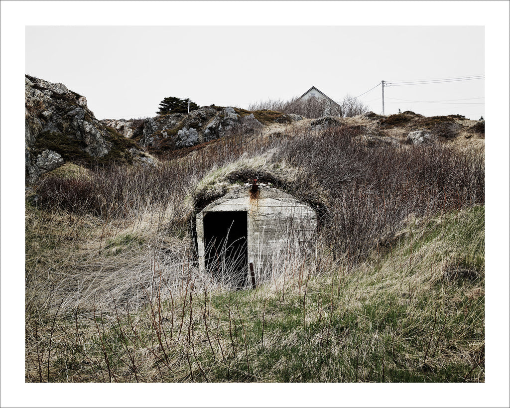 Root Cellar #7, Baret's Lane, Twillingate, Newfoundland, Canada, 2018