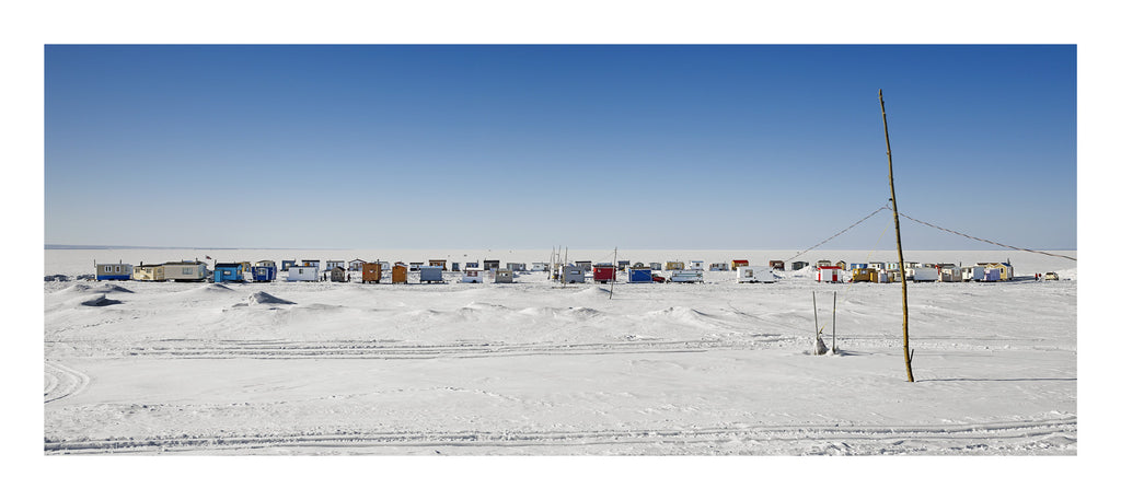 Ice Village # 8, Métabetchouan, Lac Saint Jean, Quebec, Canada, 2014 | Limited Edition Archival Photograph | © 2007-2016 Richard Johnson Photography Inc. | richardjohnsongallery.com