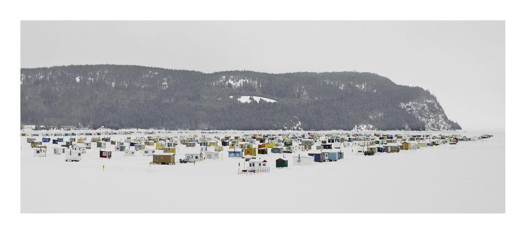 Ice Village # 52, La Baie Des Ha! Ha!, Saguenay River, Quebec, Canada, 2014 | Limited Edition Archival Photograph | © 2007-2016 Richard Johnson Photography Inc. | richardjohnsongallery.com