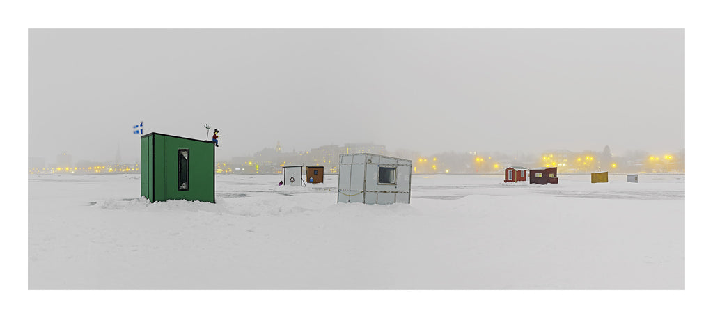 Ice Village # 70, Rimouski, Fleuve Saint-Laurent, Quebec, Canada, 2015 | Limited Edition Archival Photograph | © 2007-2016 Richard Johnson Photography Inc. | richardjohnsongallery.com