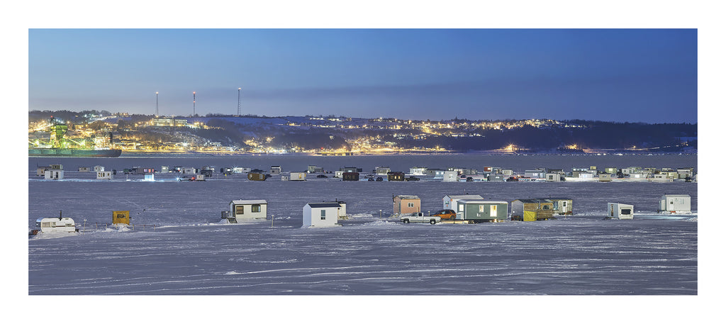 Ice Village # 156, La Baie Des Ha! Ha!, Saguenay River, Quebec, Canada, 2016 | © 2007-2016 Richard Johnson Photography Inc. | richardjohnsongallery.com