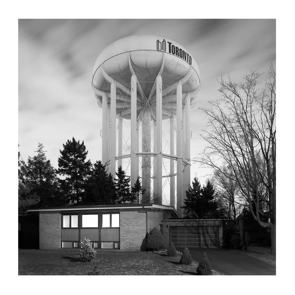 Elevated Water Tank, Leslie # 1, Toronto, Ontario, Canada, 2008 | Limited Edition Archival Photograph | © 2007-2016 Richard Johnson Photography Inc. | richardjohnsongallery.com