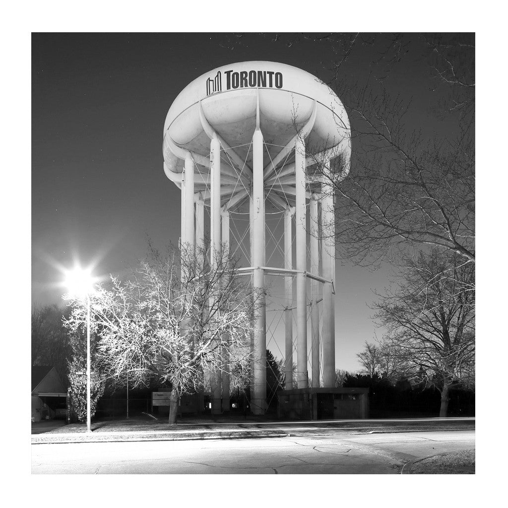 Elevated Water Tank, Leslie # 3, Toronto, Ontario, Canada, 2008 | Limited Edition Archival Photograph | © 2007-2016 Richard Johnson Photography Inc. | richardjohnsongallery.com