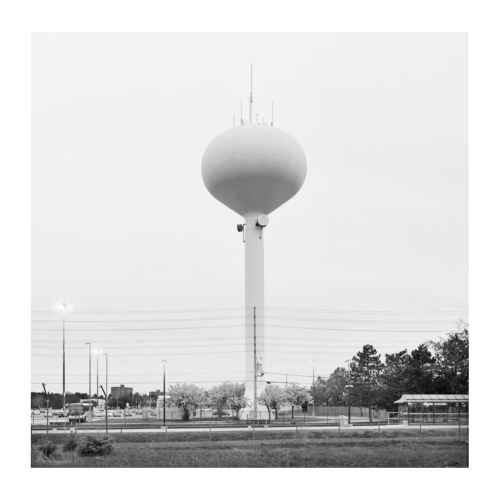 Elevated Water Tank, Peel Region # 1, Mississauga, Ontario, Canada, 2016 | Limited Edition Archival Photograph | © 2007-2016 Richard Johnson Photography Inc. | richardjohnsongallery.com