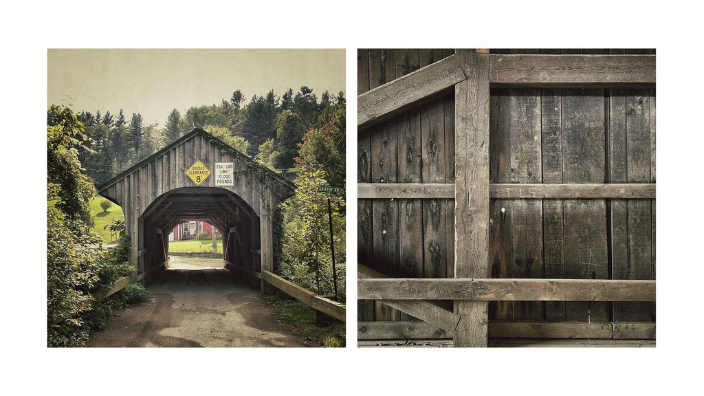 Portal of Passion # 15, Village, 1877, Waterville, Vermont, USA, 2012 | Limited Edition Archival Photograph | © 2007-2016 Richard Johnson Photography Inc. | richardjohnsongallery.com