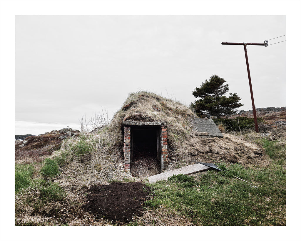Root Cellar #13, White's Hill, Twillingate, Newfoundland, Canada, 2018