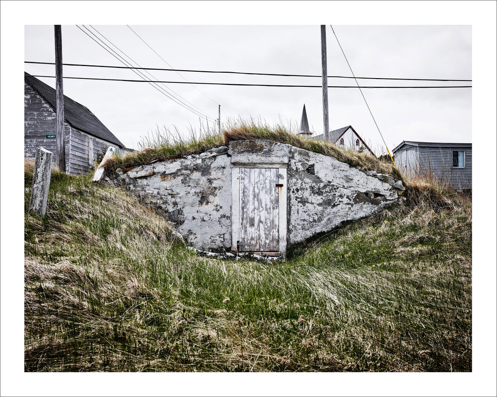 Root Cellar #96, Henry St, Elliston, Newfoundland, Canada, 2018