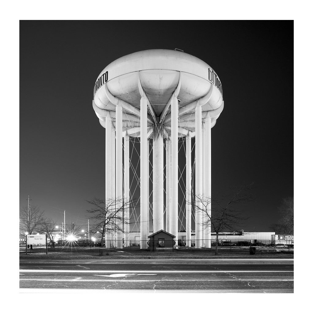 Elevated Water Tank, Warden # 1, Toronto, Ontario, Canada, 2007 | Limited Edition Archival Photograph | © 2007-2016 Richard Johnson Photography Inc. | richardjohnsongallery.com