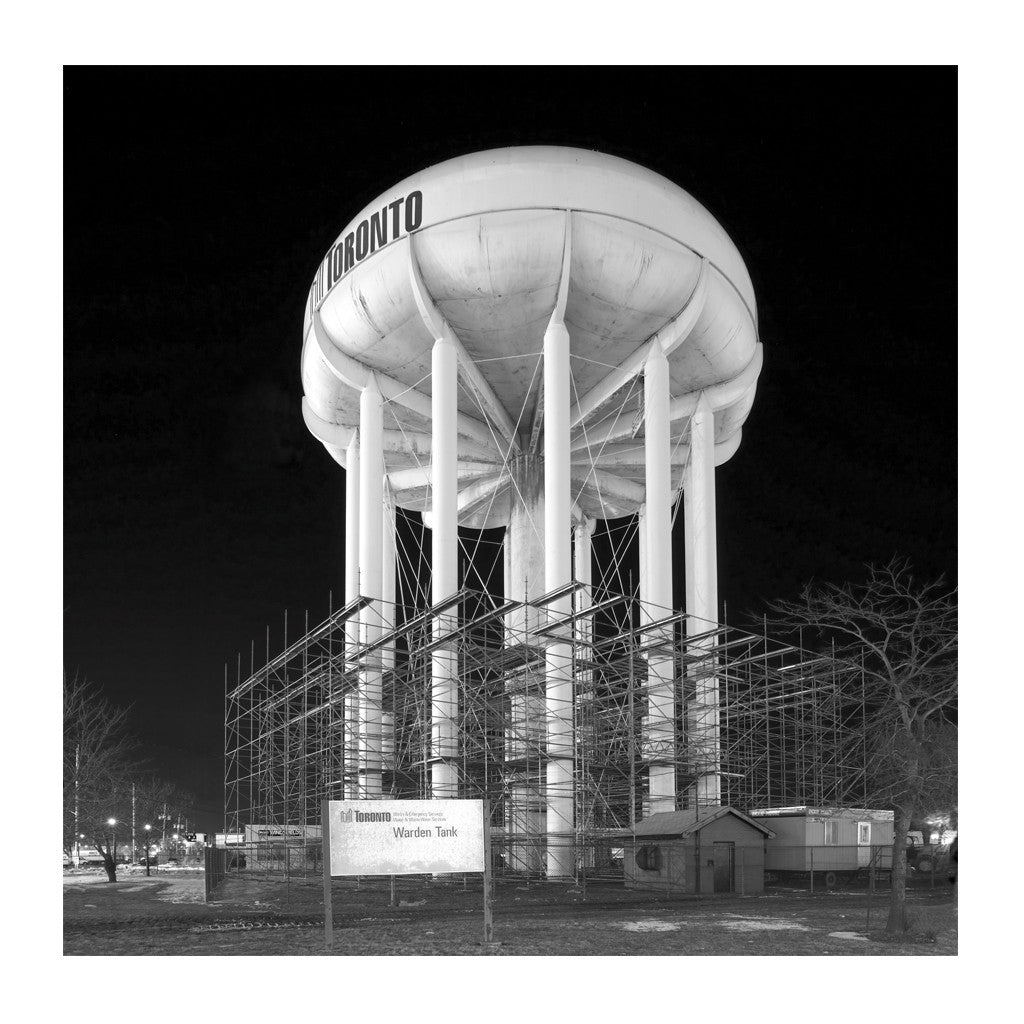 Elevated Water Tank, Warden # 4, Toronto, Ontario, Canada, 2007 | Limited Edition Archival Photograph | © 2007-2016 Richard Johnson Photography Inc. | richardjohnsongallery.com