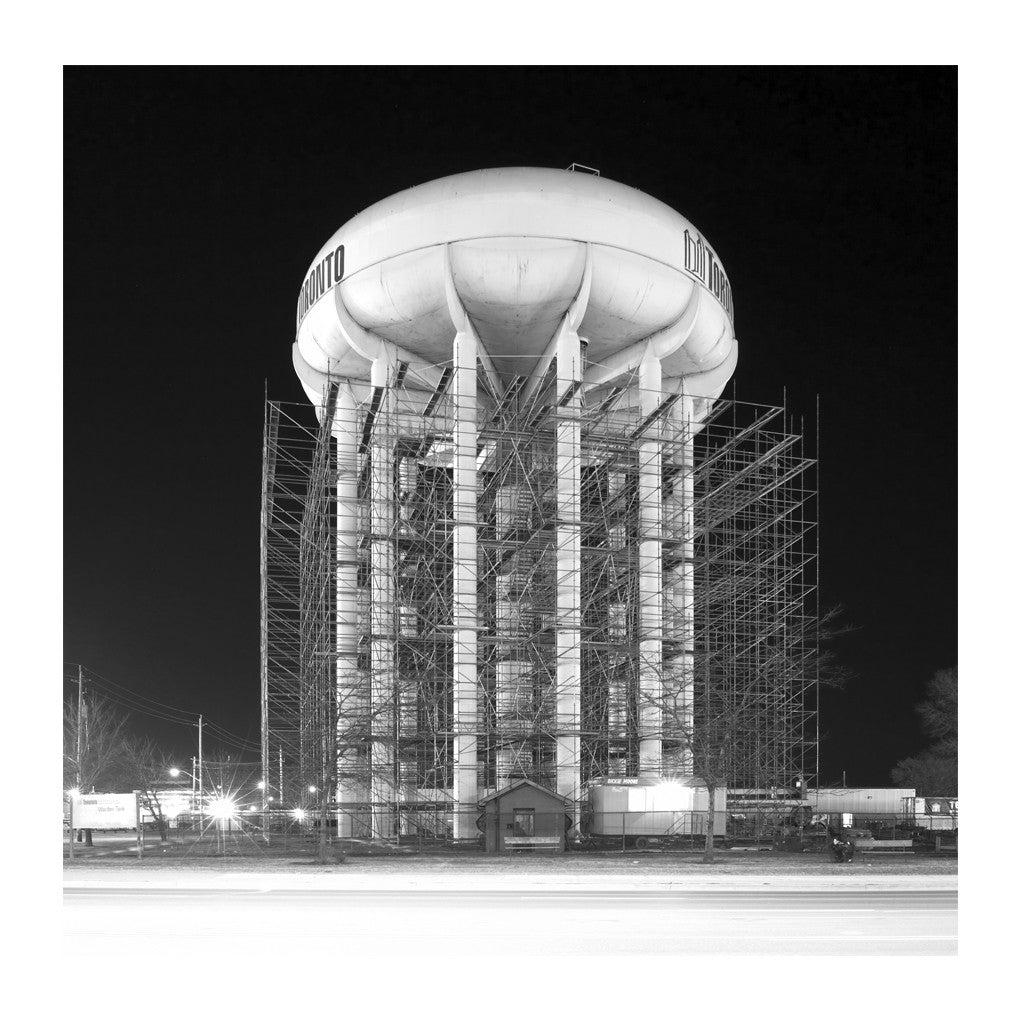 Elevated Water Tank, Warden # 6, Toronto, Ontario, Canada, 2007 | Limited Edition Archival Photograph | © 2007-2016 Richard Johnson Photography Inc. | richardjohnsongallery.com