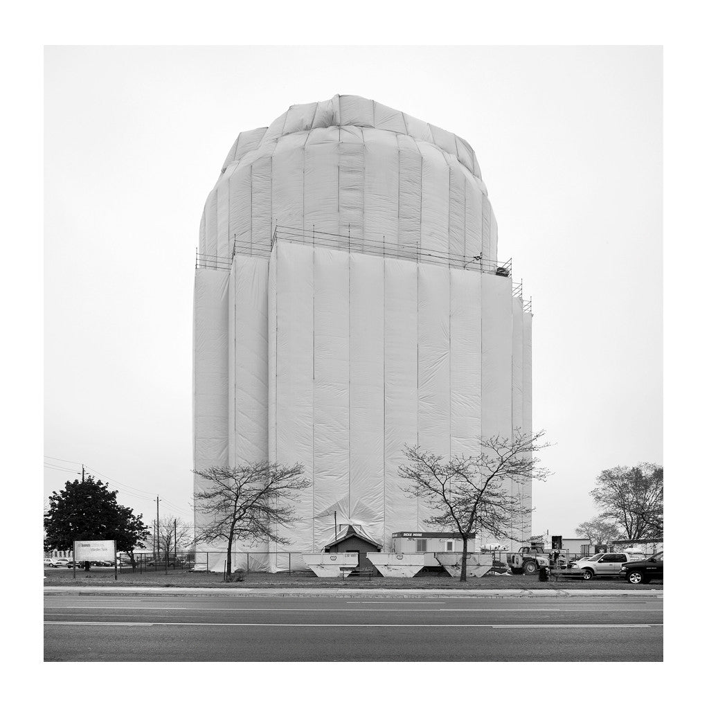 Elevated Water Tank, Warden # 10, Toronto, Ontario, Canada, 2007 | Limited Edition Archival Photograph | © 2007-2016 Richard Johnson Photography Inc. | richardjohnsongallery.com