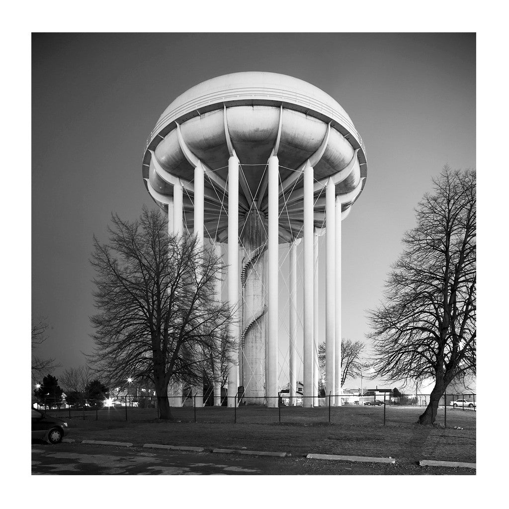 Elevated Water Tank, Whitlam # 2, Toronto, Ontario, Canada, 2008 | Limited Edition Archival Photograph | © 2007-2016 Richard Johnson Photography Inc. | richardjohnsongallery.com