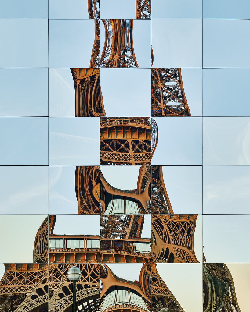 Jeté #1, Place du Trocadéro, Paris, France, 2019 - Unframed