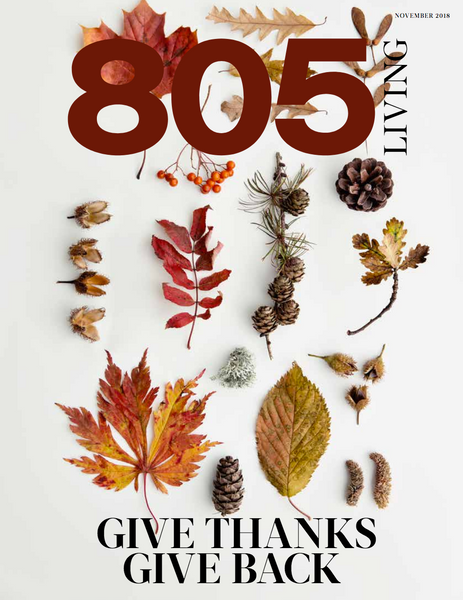 805 Living Los Alamos in the November Thanksgiving issue