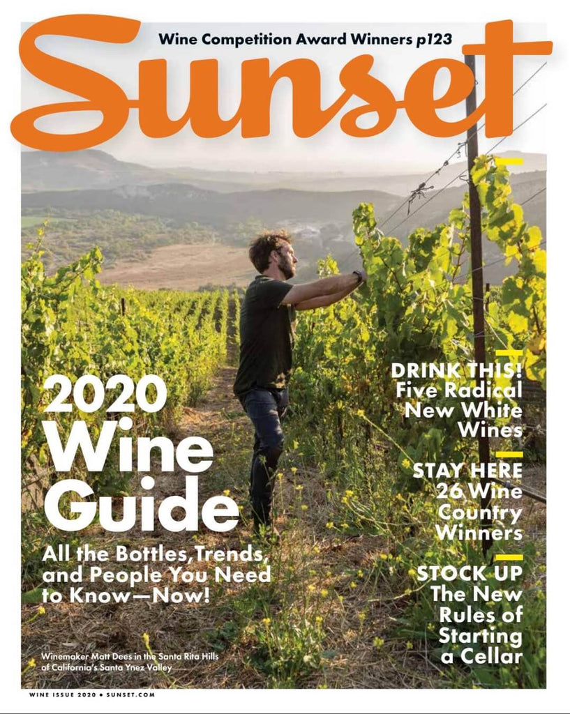 Sunset Meg 2020 Wine Guide