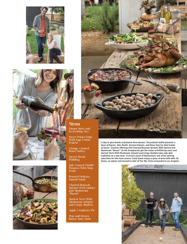 805 Living - Give Thanks Give Back - Los Alamos - Bobs Well Bread pg 77