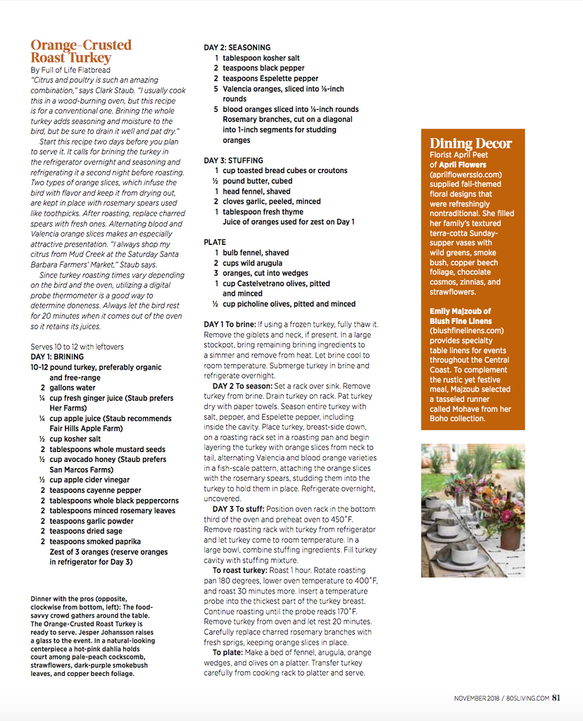 805 Living - Give Thanks Give Back - Los Alamos - Bobs Well Bread pg 81