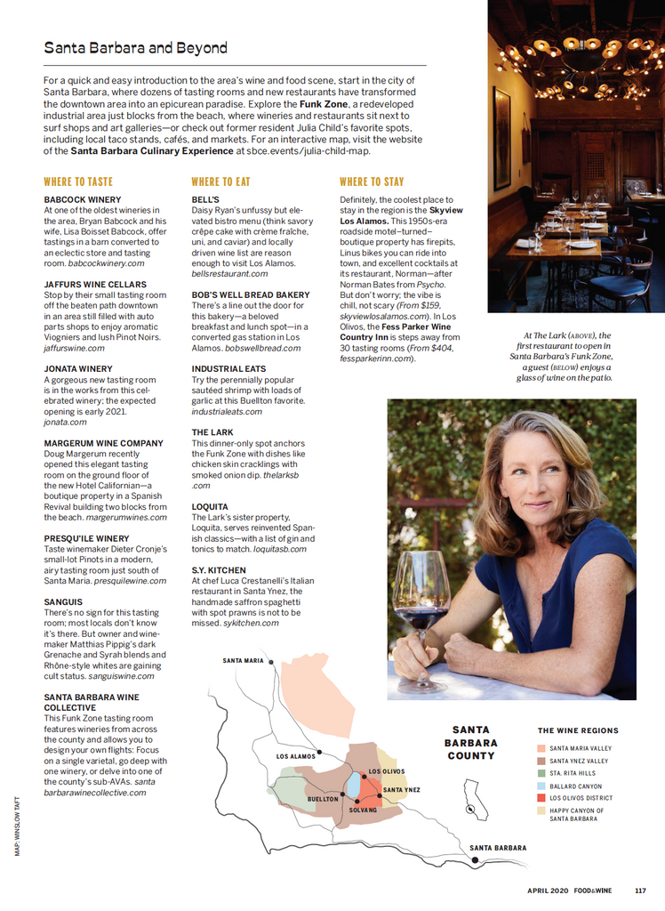 Food & Wine April 2020 - Bobs Well Bread Bakery page 8