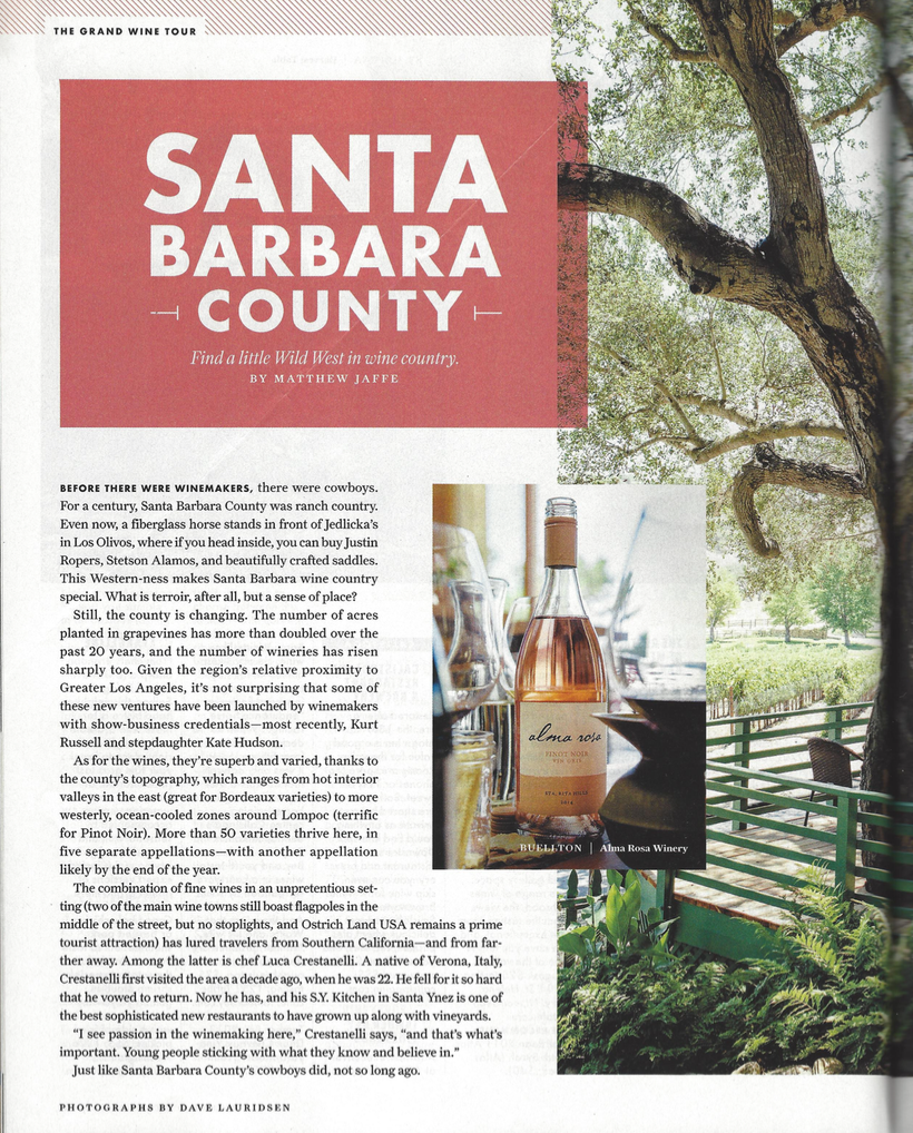 Sunset Best of Wine county Santa Barbara County Find a little Wild West in Wine County - by Matthew Jaffe