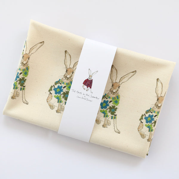 Green Maija tea towel